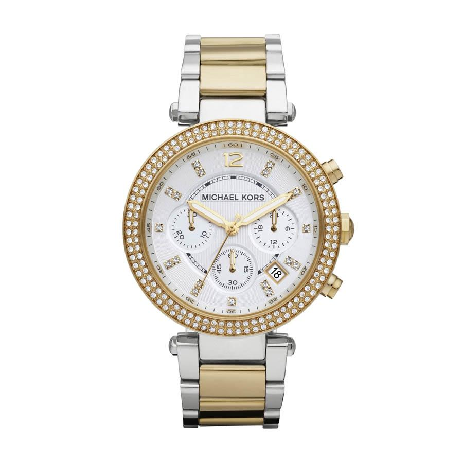 Michael Kors Parker MK5626 39mm Multicolor Steel Bracelet & Case Mineral Women's Watch
