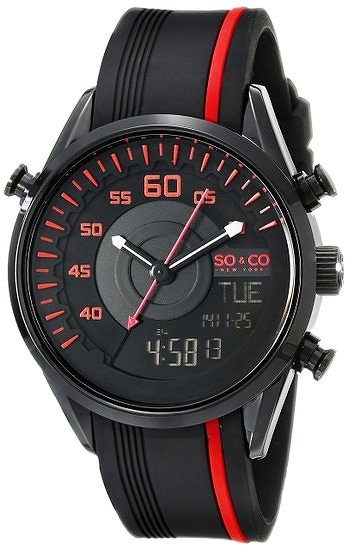 13 most popular best selling watches rubber straps for men so co new york soho men s quartz watch black dial analogue digital display
