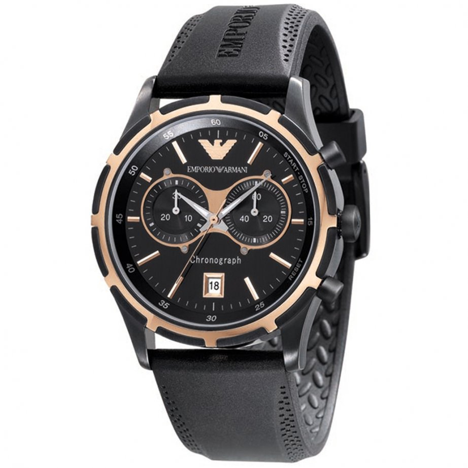 13 most popular best selling watches rubber straps for men emporio armani gents chronograph black rubber strap watch