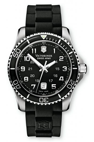 Victorinox Men's Watch XL Analogue Rubber 241435 Classic