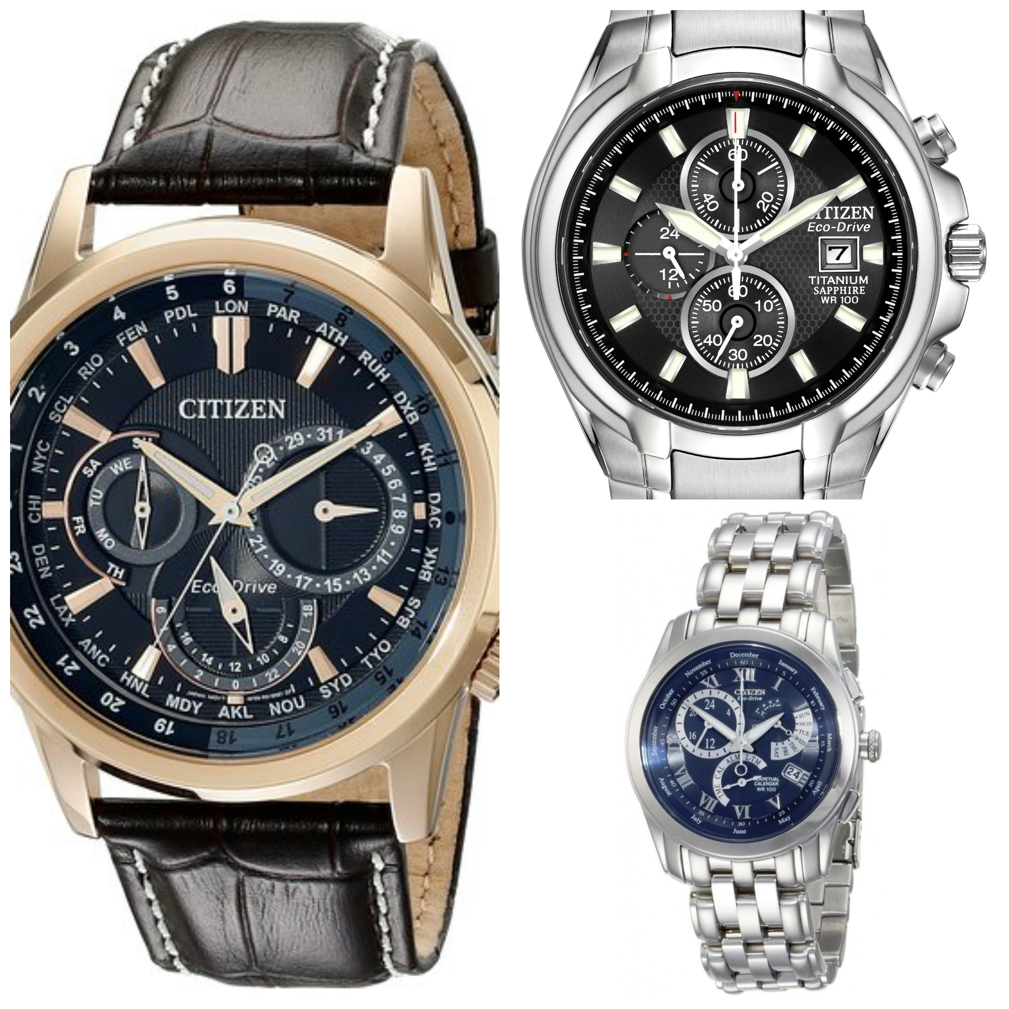 8 most popular best selling citizen eco drive watches