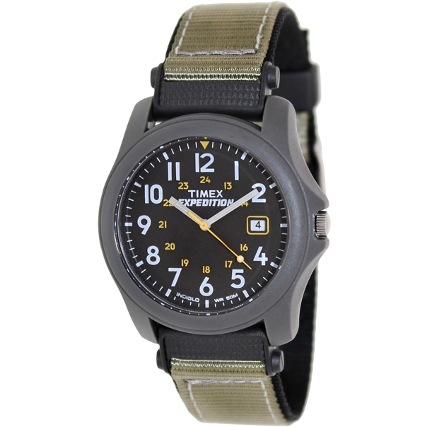 7 most popular timex watches under £100 for men best selling timex expedition men s quartz watch black dial analogue display and black nylon strap t42571