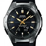 Casio Men's Quartz Watch with Black Dial Analogue  WVA-M640B-1A2ER