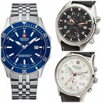 9 Most Popular Best Selling Swiss Military Hanowa Watches Under £200 For Men.