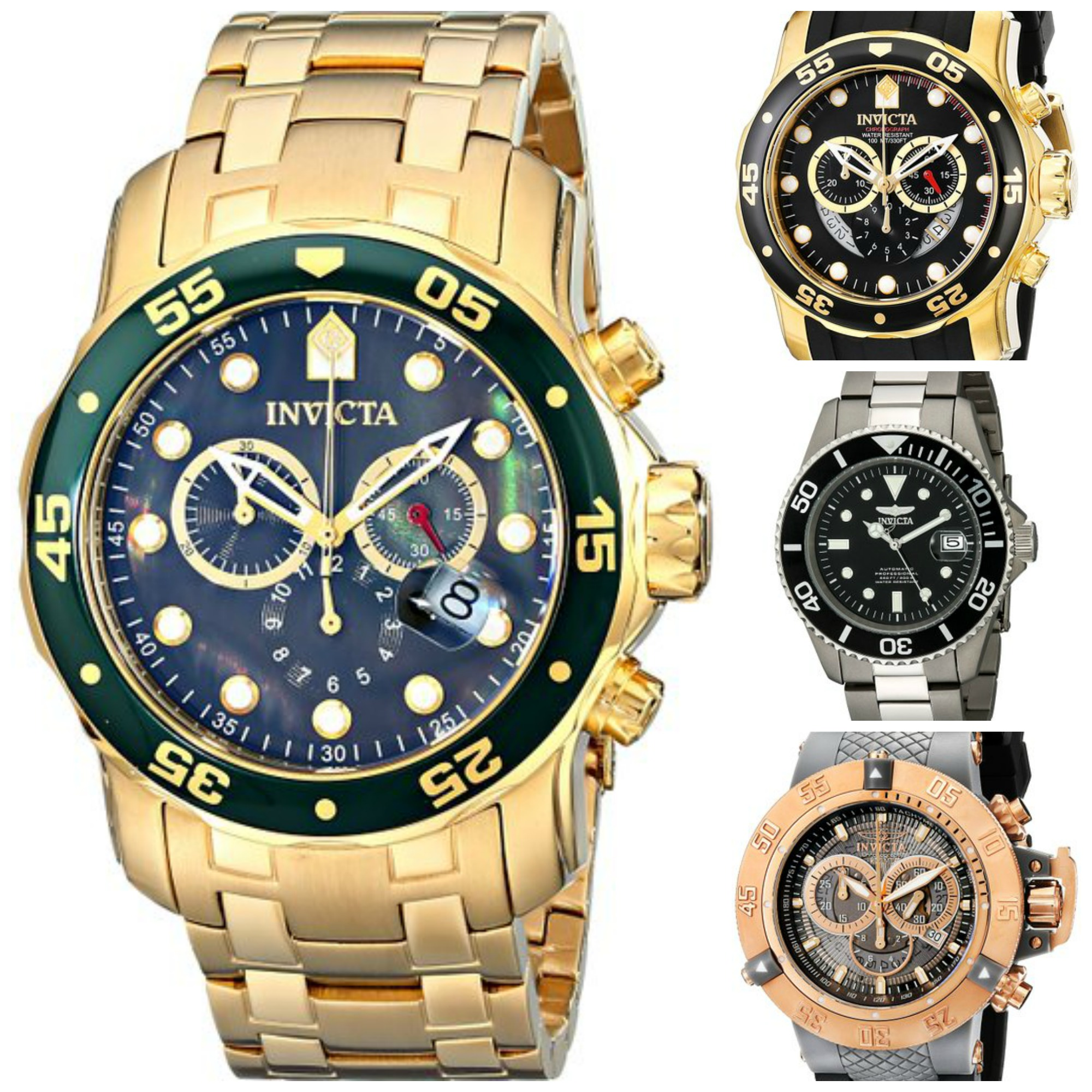 Top 5 Most Popular Invicta Watches Under £200 For Men ...