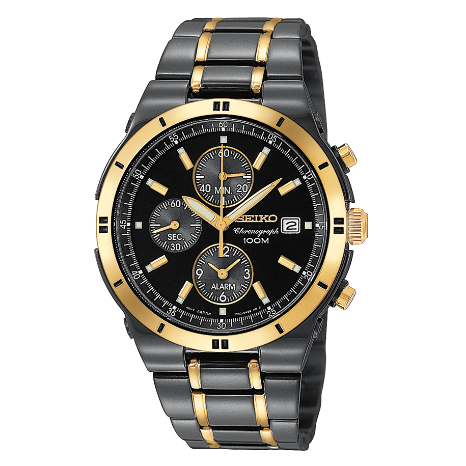 top 5 most popular best selling seiko watches for men the watch seiko titanium carbon nitride plated alarm chronograph snaa30