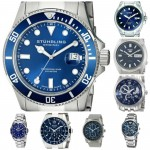 10 Most Popular Men's Blue Watches. My Love Of Watches With Hints Of Blue Continues.
