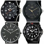 15 Best Cheap Black Watches Under £50 For Men