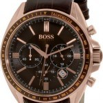 Hugo Boss Gents Watch Chronograph XL Leather 1513093 Quartz
