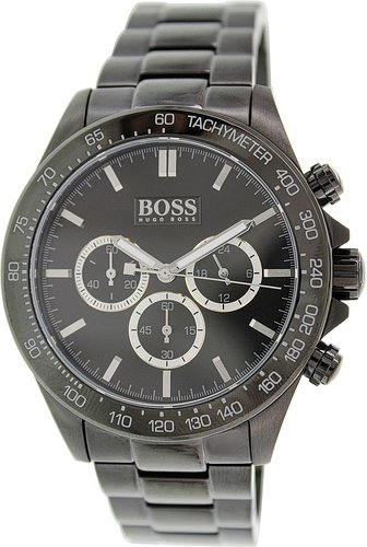 Hugo Boss Gents Watch Chronograph Quartz Stainless Steel 1512961 XL