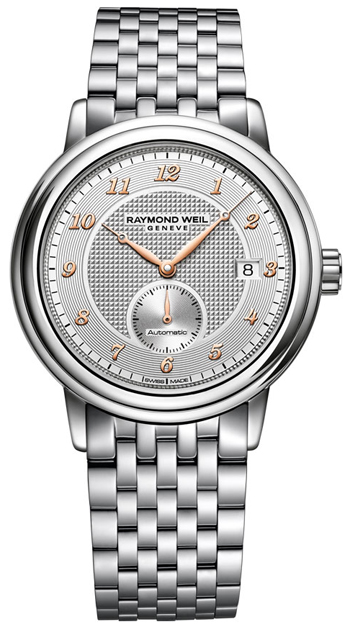 Raymond Weil Maestro 2838-S5-05658 40mm Automatic Silver Steel Bracelet & Case Anti-Reflective Sapphire Men's Watch