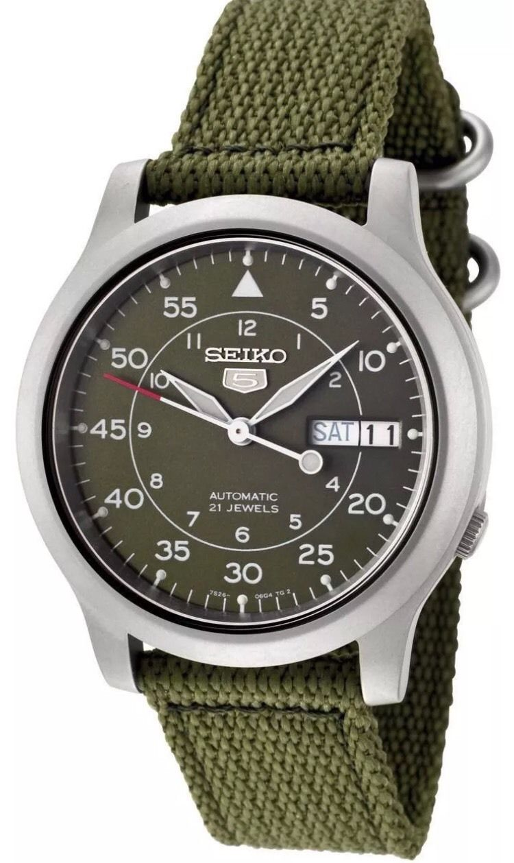 Seiko SNK805 Review