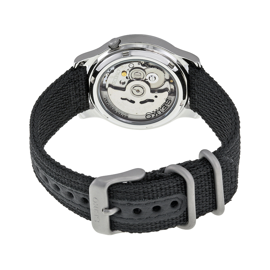 Seiko SNK809 Case back