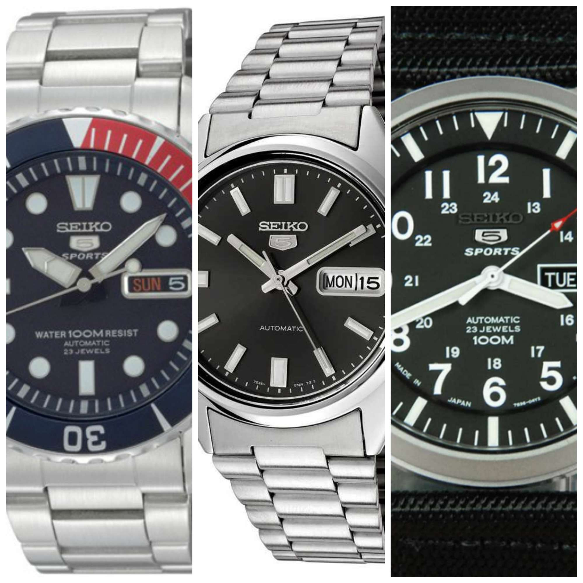 com kinetic fishing watch watches gents diver seiko watchshop mens