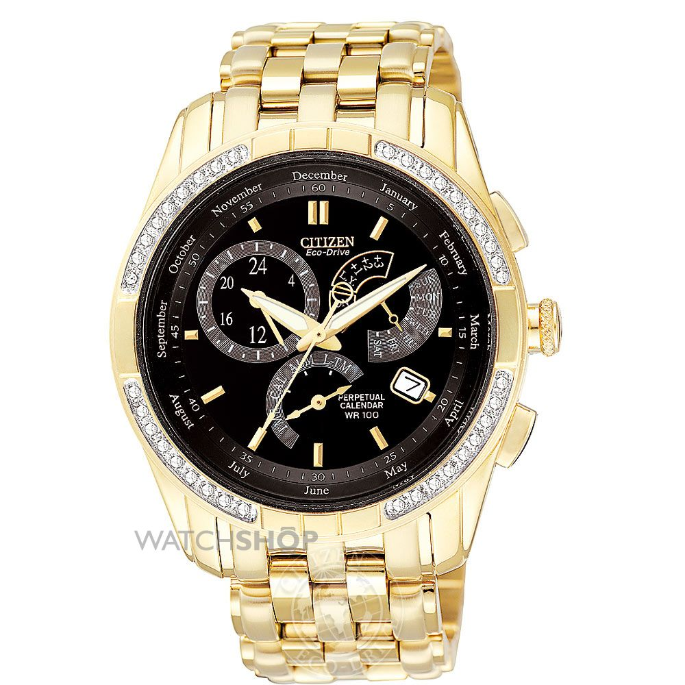 Citizen BL8042-54E Perpetual Calendar Watches