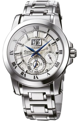Seiko Kinetic Perpetual calendar Watch
