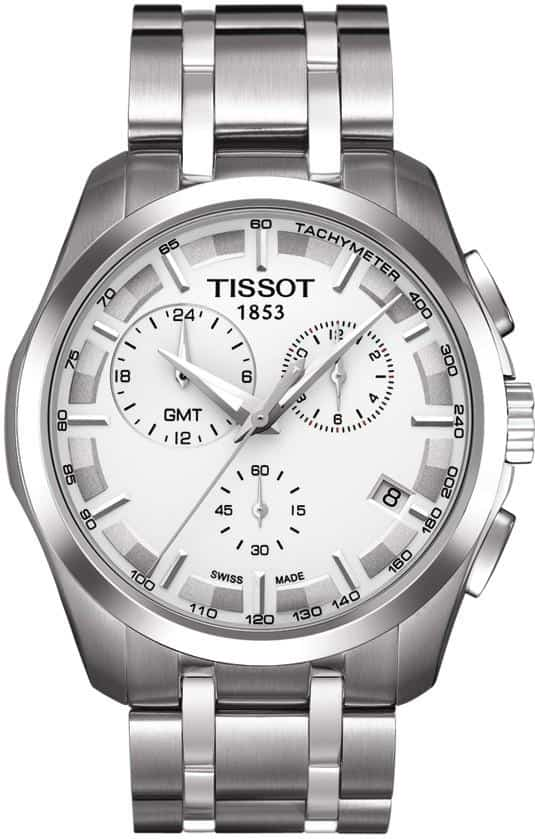 Tissot Couturier Chronograph GMT Watches