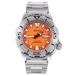 Seiko Orange Monster Men's Automatic Diving Watch SRP309 Review