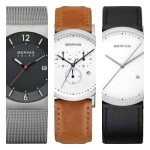 bering simple watches for men