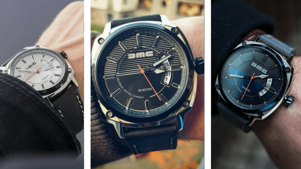 Hands On Dmc Delorean Watches Review The Watch Blog