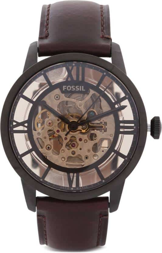 Fossil ME3098 men's automatic skeleton watch