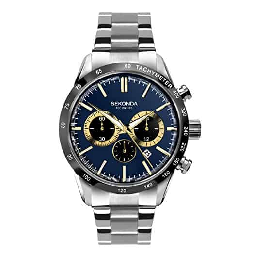 Sekonda 1565.27 mens chronograph watch