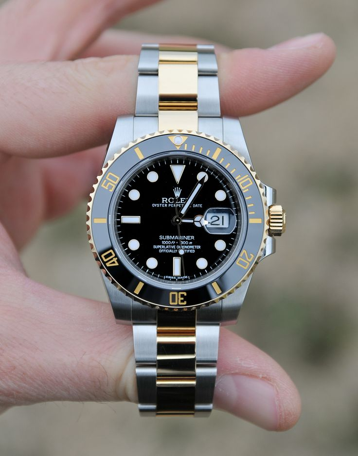 Rolex Submariner Black Index Dial Oyster Bracelet Mens Watch 116613BKSO Watch Review