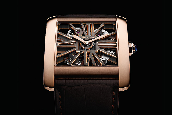 Cartier Tank MC Two-Tone Skeleton