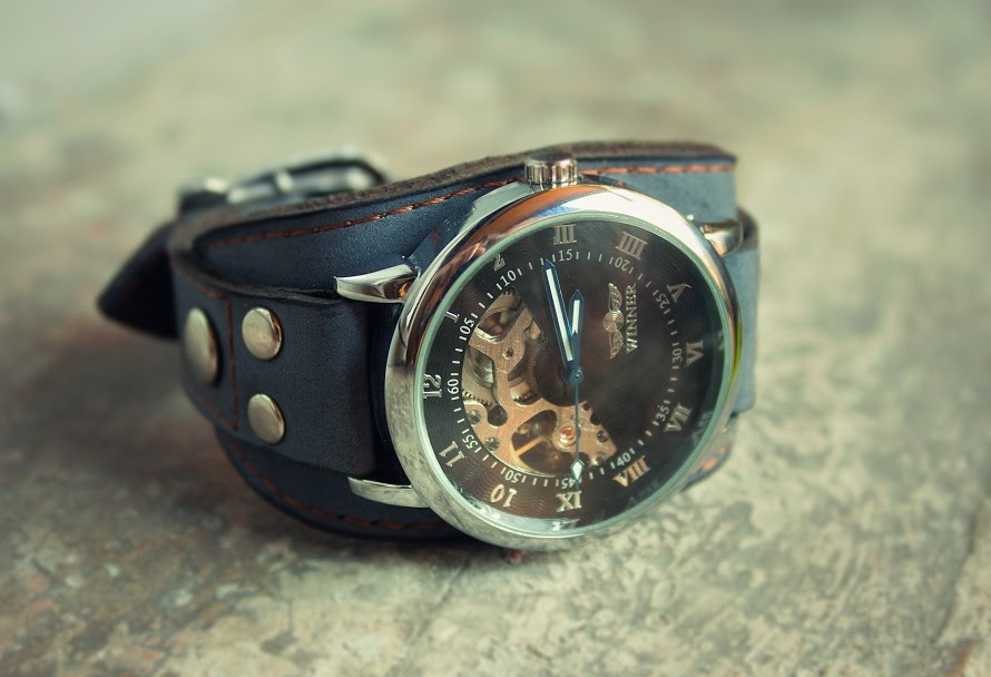Chronodos Wrist Watch Leather