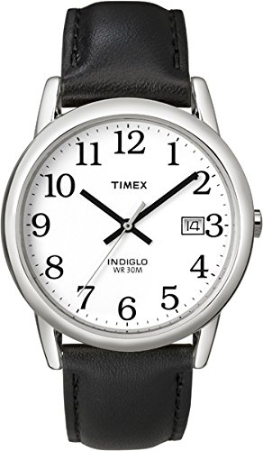 Timex Mens Classic Watch with Leather Strap - T2H281
