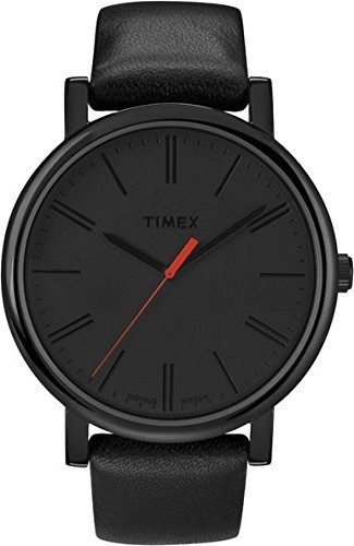 Timex Originals Quartz Watch with Dial Analogue Display and Leather Strap T2N793PF