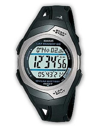 Casio Men's Phys Sports Running Watch, Black
