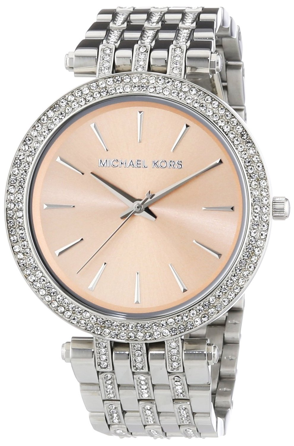 Michael Kors MK3218 Ladies Silver Darci Watch