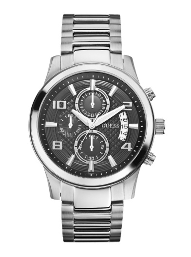 Guess Mens Exec Watch Chronograph W0075G1