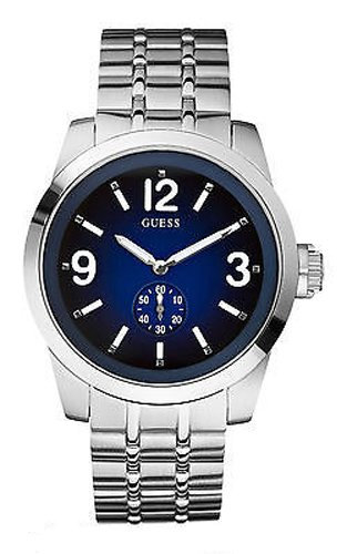 Guess Men's Quartz Watch Zoom W13571G2 with Metal Strap
