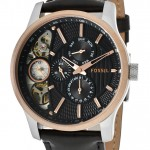 Fossil Men's Quartz Watch ME1099 with Leather Strap