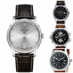 Top 5 Most Popular Hamilton Leather Strap Watches For Men. Best Sellers.