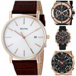 Top 5 Most Popular Rose Gold Bulova Watches for Men