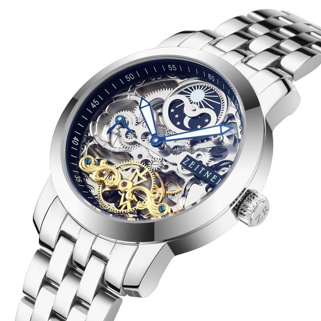 8 Top Men's Skeleton Watches For Men. Best Selling Most