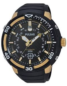 Pulsar Men's Watch XL Analogue Automatic Stainless Steel Sport PU4050 x 1