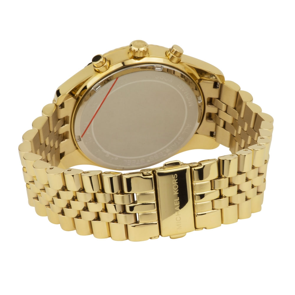 Michael Kors Men's Fashion Watch MK8281 Review Rear Image