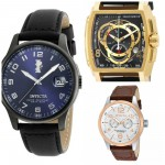 12 Best Selling Most Popular Invicta Watches With Leather Straps For Men