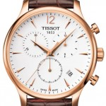 T0636173603700 Price Comparison Tissot Tradition 42 Stainless Steel Case Brown Leather Men's Watch