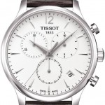 Tissot Tradition T0636171603700 42 Stainless Steel Case Brown Leather Men's Watch