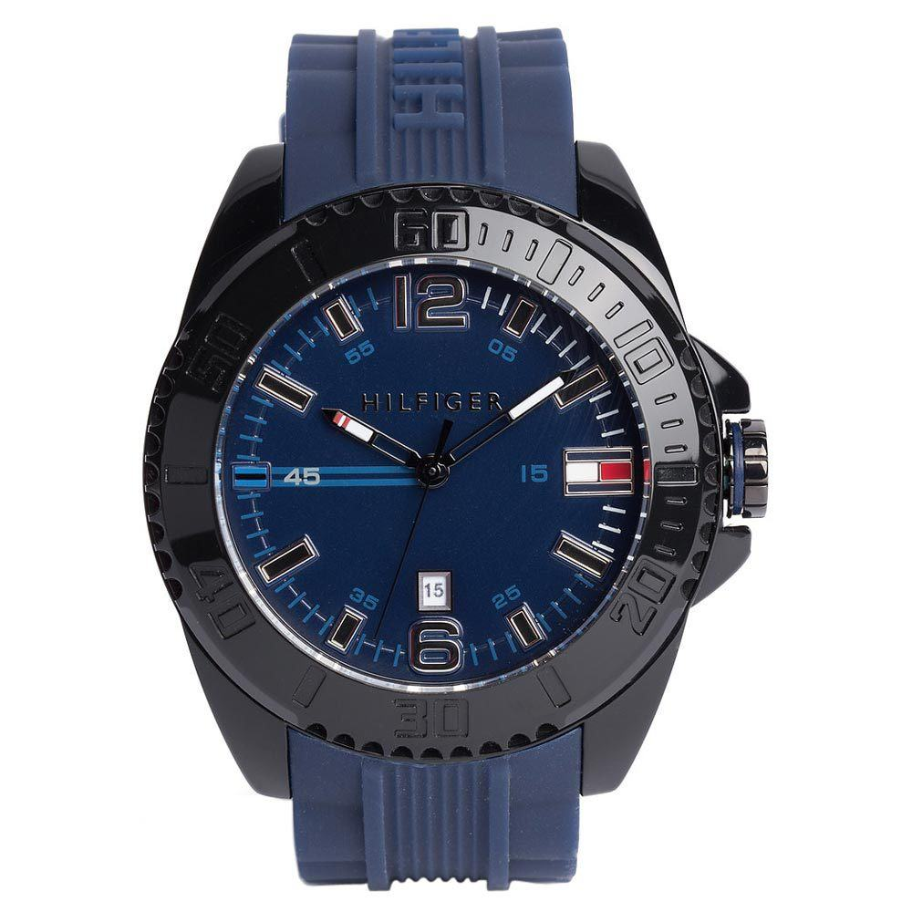 Tommy Hilfiger Watch Review 1791040 in blue