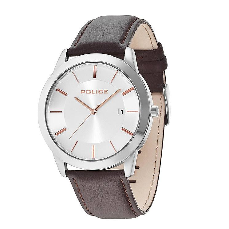 Police 14139JS/04 Affordable Leather Strap Watch