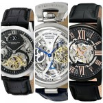 5 Most Popular Stuhrling Skeleton Watches With Leather Straps 2016