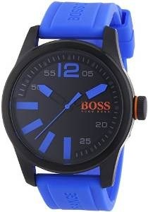 Hugo Boss Orange Mens Black Dial With Blue Accents 1513048