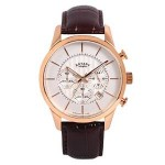 Review Rotary GS00313/01 Timepieces Men's Quartz Rose Gold Watch