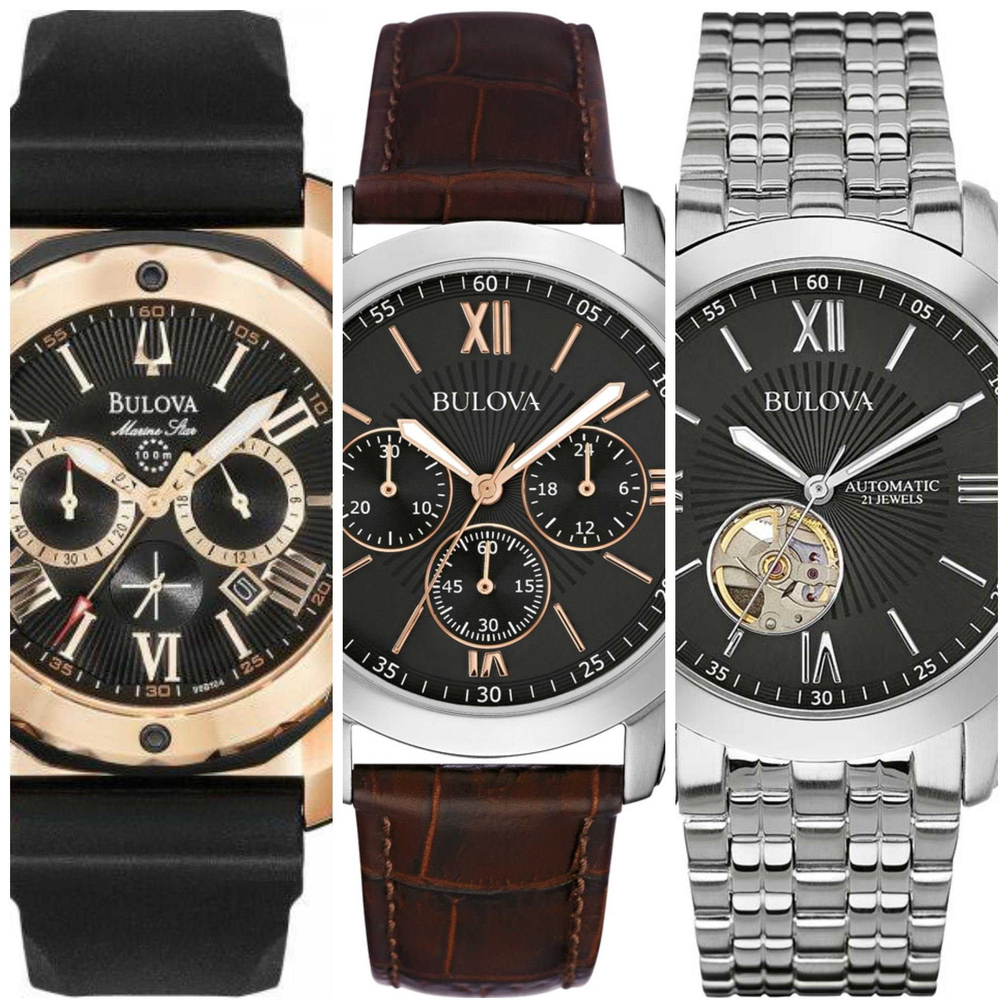 21 Most Popular Cheap Bulova Watches Under 200 Best Buys For Men